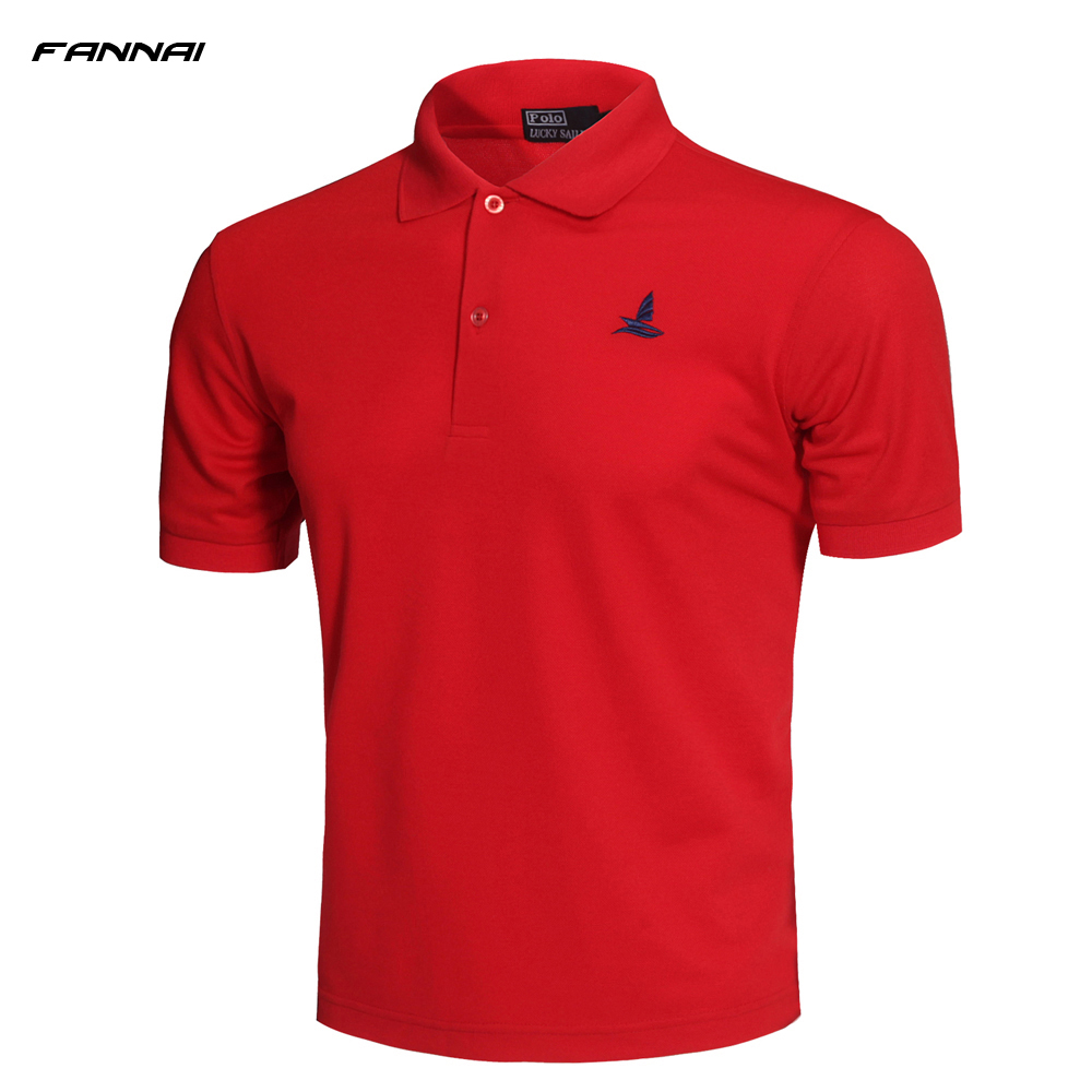 2019 High Quality Camisa   Polo   Slim Fit Men's Shirt Cotton Turn Down Collar Summer Men   Polo   Shirt Fashion Casual   Polo   Shirts
