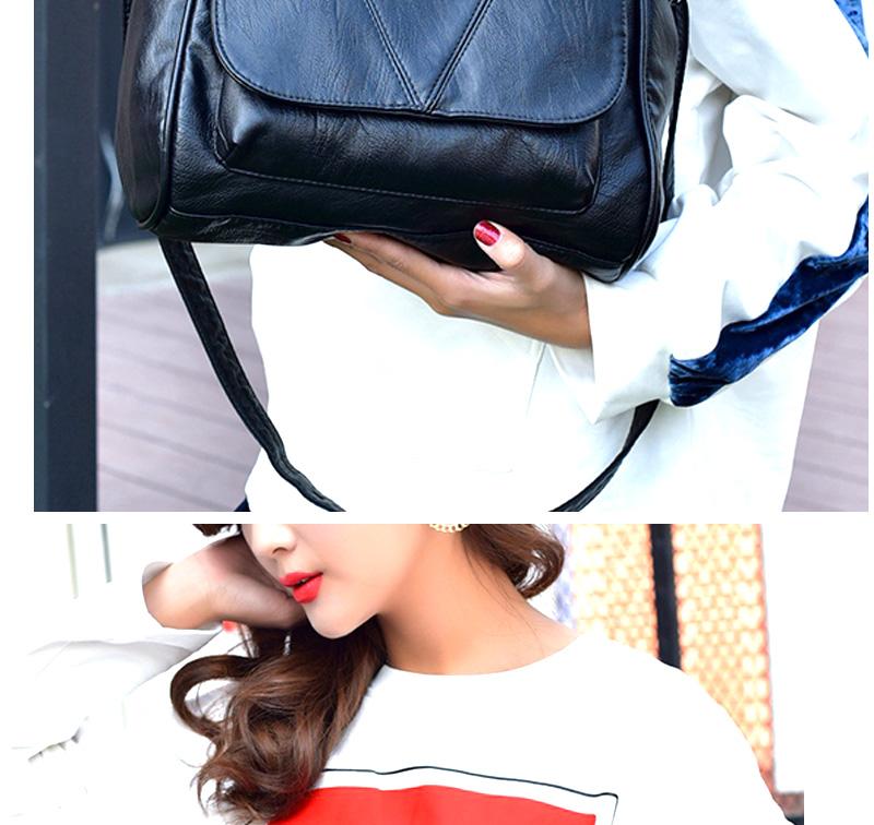 18 Women Messenger Bags Crossbody Soft Leather Shoulder Female Bag Flap Bolsa Feminina Designer Handbags High Quality Brand 8