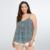 Mulheres plus size tops chiffon sem mangas camis impressão camisas casual u-pescoço sexy beach wear grandes topos tamanho l-6xl mulheres clothing