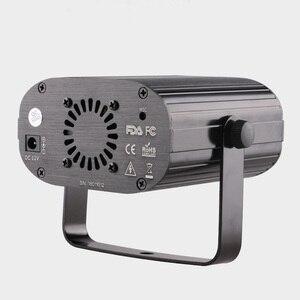 Image 3 - ALIEN projecteur Laser RGB à 128 motifs à distance 3W, éclairage de scène avec effets Disco Club noël spectacle de vacances, bleu, LED