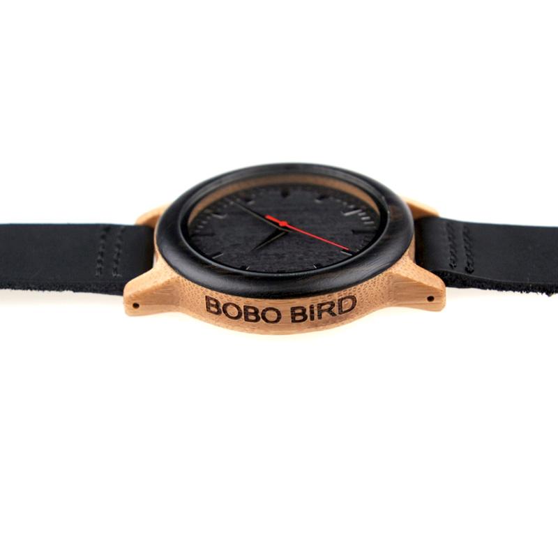 New 2017 Luxury Brand BoBo Bird Watch Men Women Bamboo Watches (3)