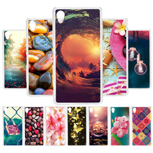 3D DIY Soft Silicone Case For Sony M4 Case Coque For Sony Xperia M4 Aqua E2303 E2353 M4Aqua Cover Painted Case Back Capa Fundas sony xperia m4 aqua dual coral