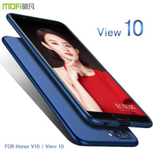Honor V10 Case Cover Honor View 10 Hard Back Cover Case MOFI For HUAWEI Honor V10 PC Case Protective Back Case Black coque funda