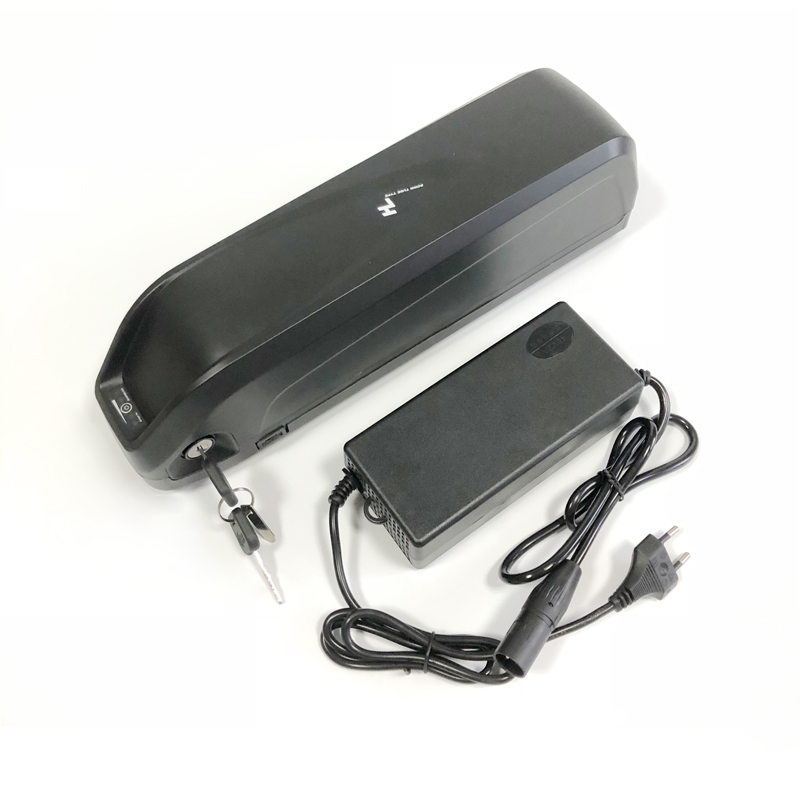 E vélo 52 V 14AH batterie pour Samsung cellules Li-ion batterie de vélo électrique HAILONG 52 V vélo batterie au Lithium avec chargeur 2A