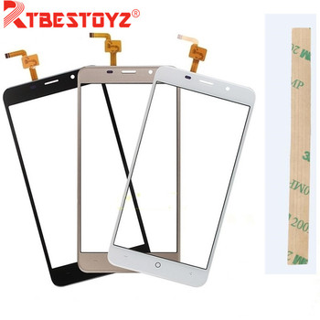 Tape Touch Panel For LEAGOO M5 Sensor Touch Screen Digitizer Repair Parts Touchscreen For LEAGOO M5 Front Glass Lens image