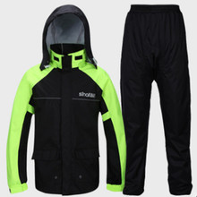 High Quality Professional Outdoor Raincoat Hidden Thicker Mesh Lining Safety Reflective Tape Design Super Rain Jacket Hiking