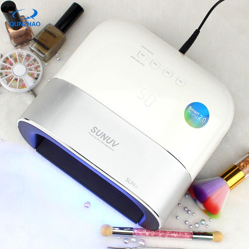 Güzellik ve Sağlık'ten Tırnak Kurutucuları'de SUN3 UV LED tırnaklar için lamba 48W nais makinesi UV Lamba Manikür Tırnak Kurutma Profesyonel Jel Tırnak Makinesi Led Jel Lampara'da  Grup 1