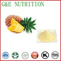 GMP factory 100% pure natural Pineapple Extract Powder  4:1   100g