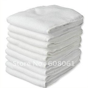 Best quality 3 layers microfiber insert 40pcs 15x35cm