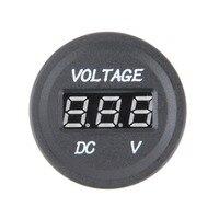 Professional Black 12 V-24 V DC LED Digital Display Auto Car Motorcycle voltmeter Metro Voltmeter Socket Measuring Tools