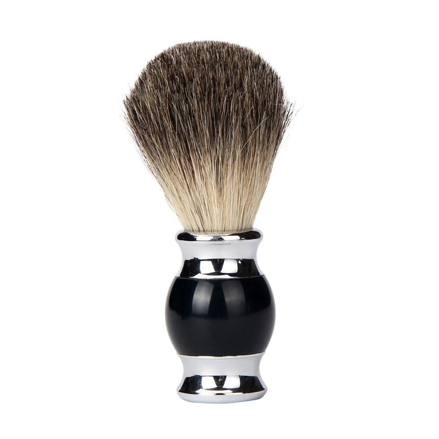 Love Beauty Female  Luxury Best Pure Badger Hair Wet Shaving Brush Shave Face Salon Tool Drop Shipping 170118