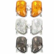 Motorcycle Front Turn Signal Light Lens Shell For Honda Goldwing GL 1800 2001-2015 2014 2008 2009 front turn signal light lens for suzuki hayabusa gsx1300r gsxr1300 2008 2012