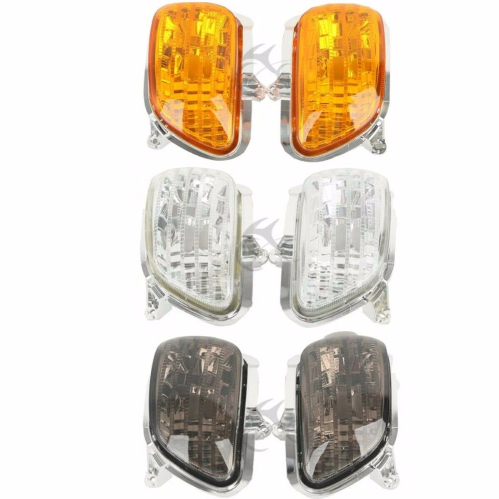 Motorcycle Front Turn Signal Light Lens Shell For Honda Goldwing GL 1800 2001-2017