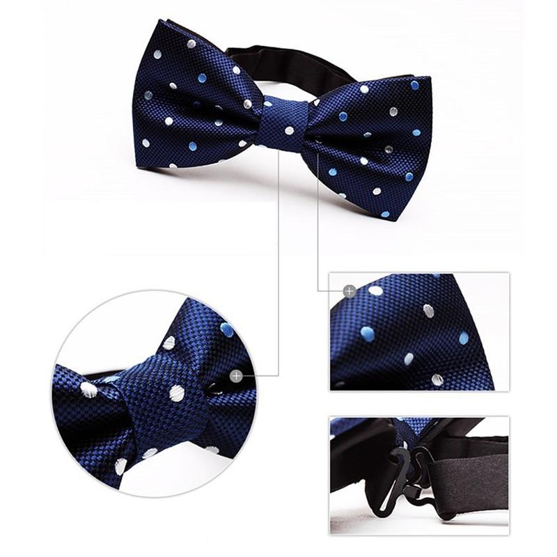 Mantieqingway Solid & Dot Bow Tie Үйлену - Киімге арналған аксессуарлар - фото 6