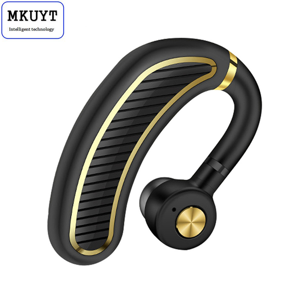MKUYT Wireless Bluetooth 4.1 Business Headsets Headphone Earphone 300mAh Super Long Standby for IOS and Android Smartphones lexin 2pcs max2 motorcycle bluetooth helmet intercommunicador wireless bt moto waterproof interphone intercom headsets