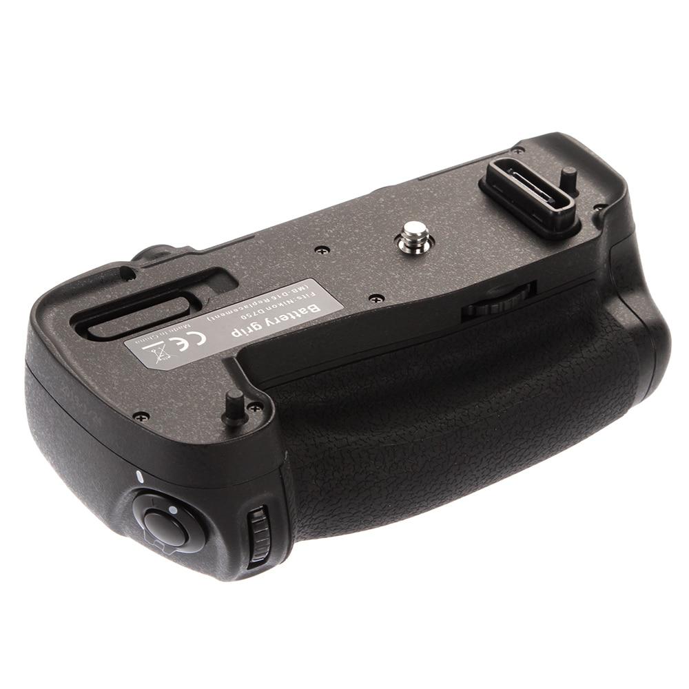 MB D16 Verticale Batterie support de prise en main Remplacer Multi puissance EN EL15 pour Nikon D750 DSLR Caméra-in Extensions de batterie from Electronique    1
