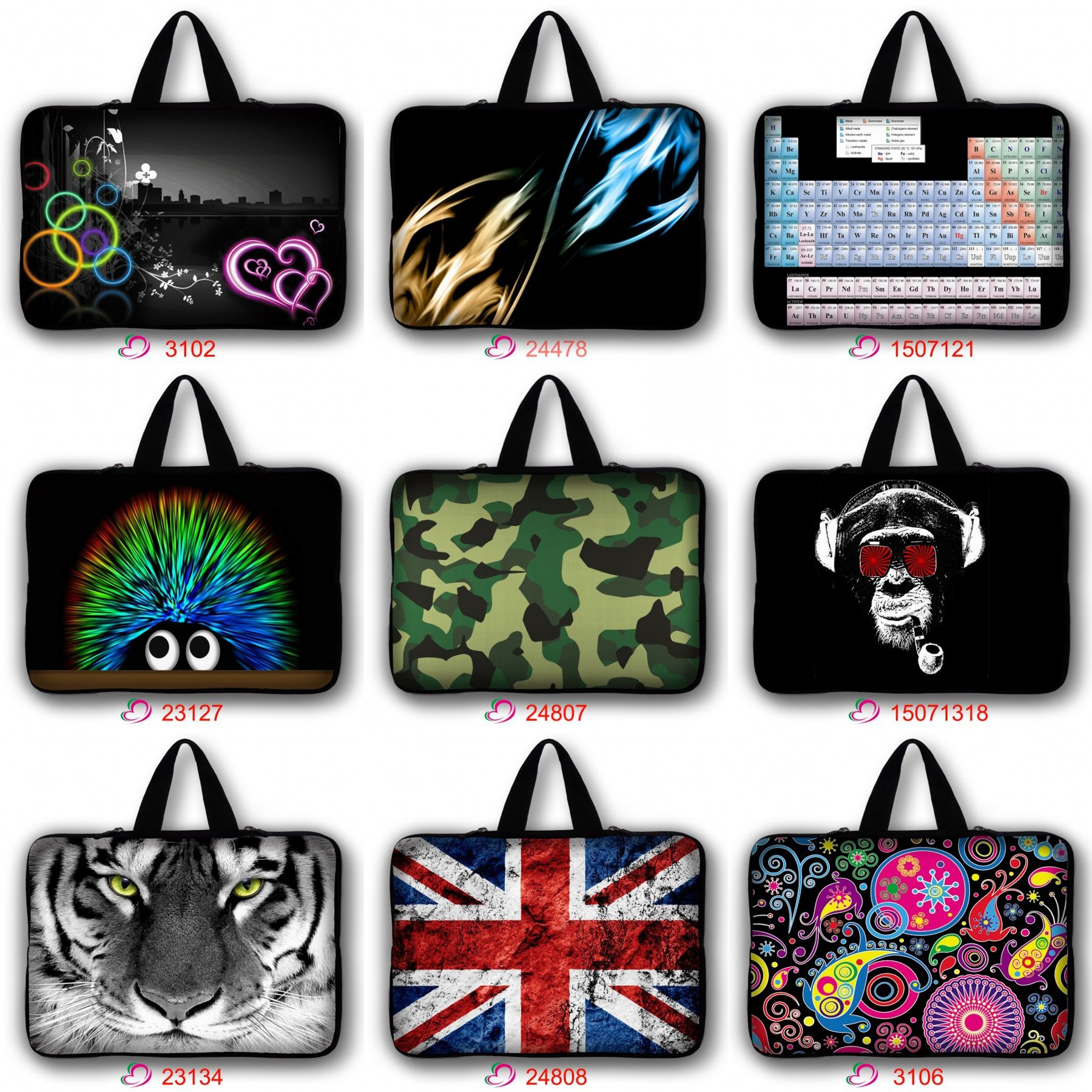 Laptop Sleeve Case Notebook Computer Pouch Cover Bag for ASUS Dell 11131415 17 inch Laptop Netbook Tablet