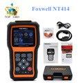 Foxwell NT414 Cuatro Sistema de Diagnóstico Herramienta de Análisis Del Motor ABS Airbag Restablecer Universal Scanner Automotriz Barato que MD802