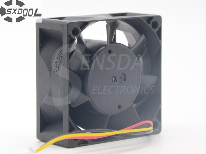 CA1027H09  SXDOOL MMF-06D24ES FC4 60*60*25 mm DC 24V 0.10A For ABB PLC Cooling Fan sxdool mds c1 v1 fan nc5332h44 mmf 09d24ts rn9 dc 24v 0 19a server inverter cooling fan