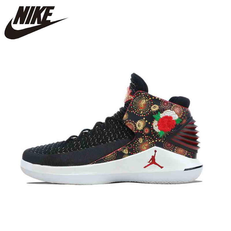 Original Neue Ankunft Authentic Nike Air Jordan Xxxii Pf Cny Aj32 Männer Basketball Schuhe Turnschuhe Sport Aj6333-042 Wohltuend FüR Das Sperma Basketball-schuhe