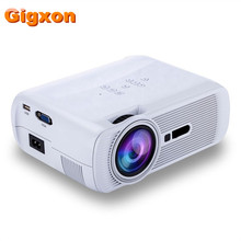 Cheaper Gigxon – G80  1000 Ansi Lumens 1920*1080 Full HD Mini Portable Home Theater Proyector LCD Projector
