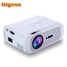 Gigxon-G80 1000 Ansi Lumen 1920*1080 Full HD Mini Tragbare Mini-heimkino-projektor-led-projektor LCD Projektor