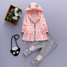 girls clothing sets 2017 spring autumn baby girl set cotton child costume mother & kids girls outfits sport suit for girl TZ-8