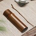 1 anzug Natürliche Bambus Tee Kugeln Matcha Tee Kaffee Zucker Salz Löffel Scoop Chinesischen Tee Sets Küche Werkzeug Tee Zeremonie zubehör-in Teeschaufeln aus Heim und Garten bei