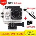 Водонепроницаемая камера стиль Оригинальный камера Wi-Fi HD 1080 P Шлем мини Спорт go pro Камеры 30 М подводные утра