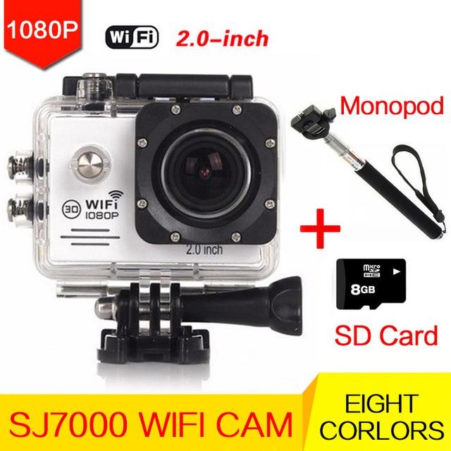 camera waterproof style Original Action camera  Wifi HD 1080P Helmet mini Sport go pro Camera 30M underwater am