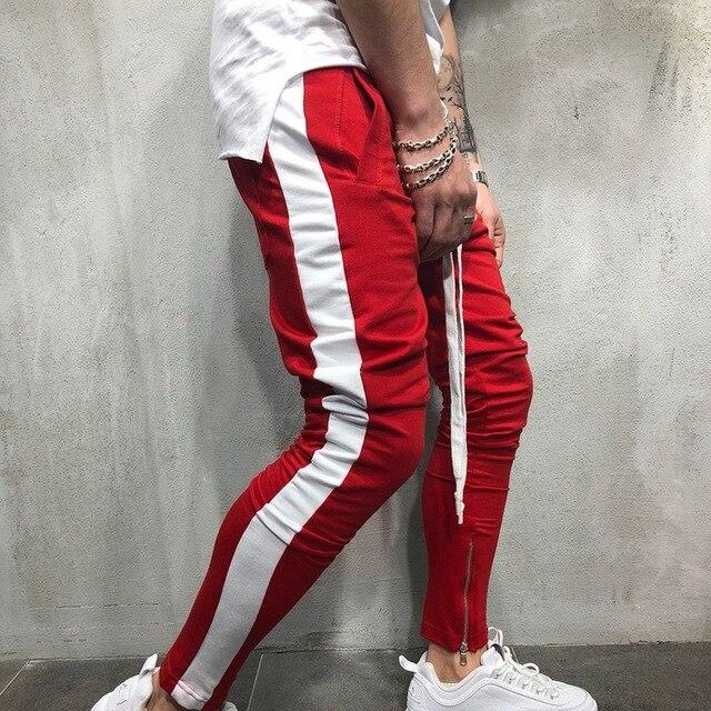 101cb35b22 LAAMEI 2018 New Men Pants Gym Sweatpant Hip Hop Sportswear Fitness Joggers Trousers  Men Streetwear Track Pants Pantalon Male