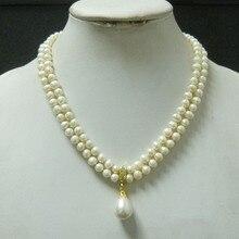 Европейский Свадебное жемчужное ожерелье роскошное ожерелье