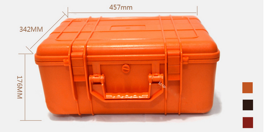 Tool case toolbox Impact resistant sealed waterproof case 43s