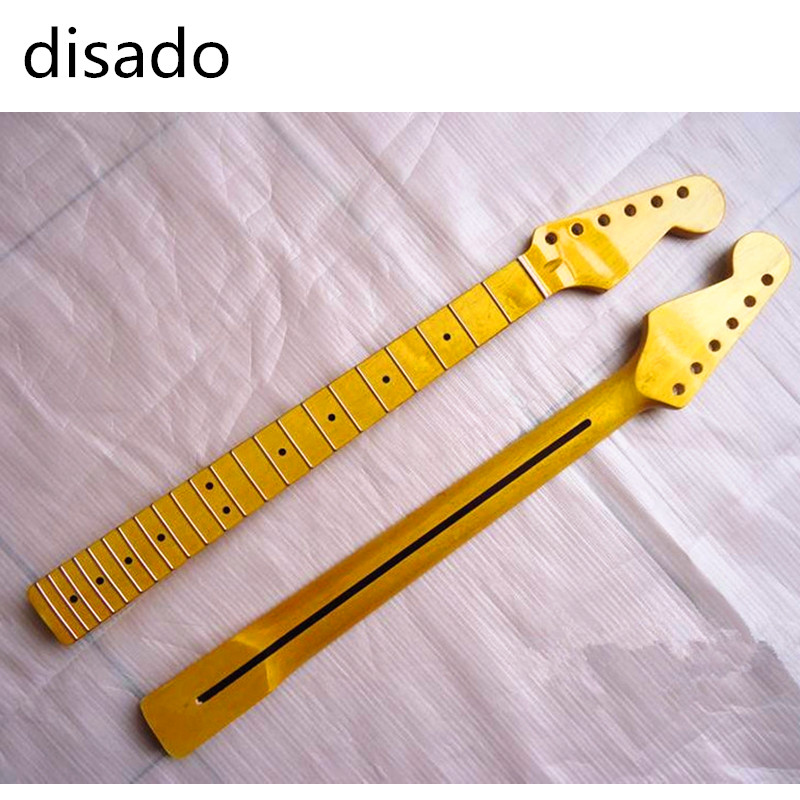disado 22 Frets maple Electric Guitar Neck maple fingerboard Guitar Parts strings guitarra musical instruments accessories free shipping semi hollow body aaaaa quilted maple top gold hardware jazz es 335 345 electric guitar guitarra all color accept