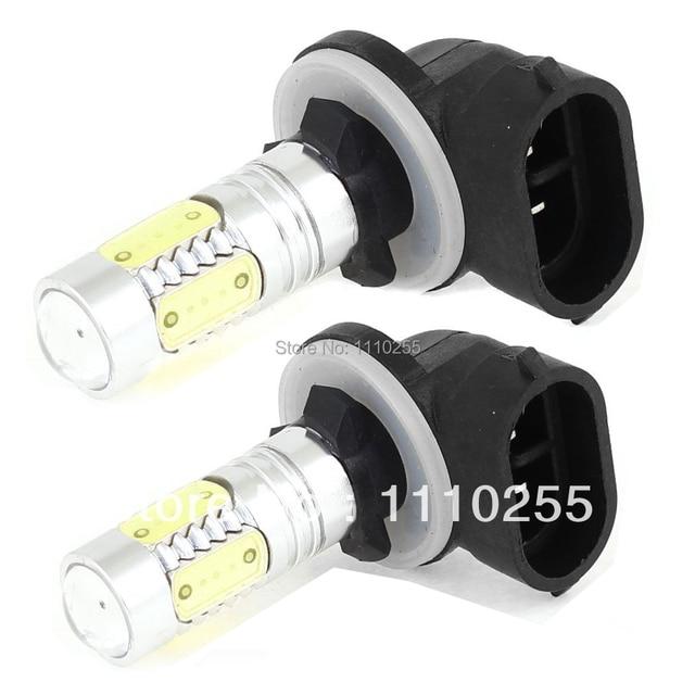 2x881 H27W/2 PGJ13 11 W de Alta Potencia LED Auto Faros antiniebla bombillas para bmw vw ford toyota honda ladaskoda kia hyundai