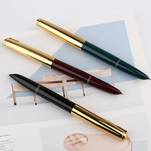 Authentic Quality HERO 616 Classic Nostalgic Fountain Pen 616-2 Golden Clip / Cap Ink Iridium Fine Nib 0.5mm for Student