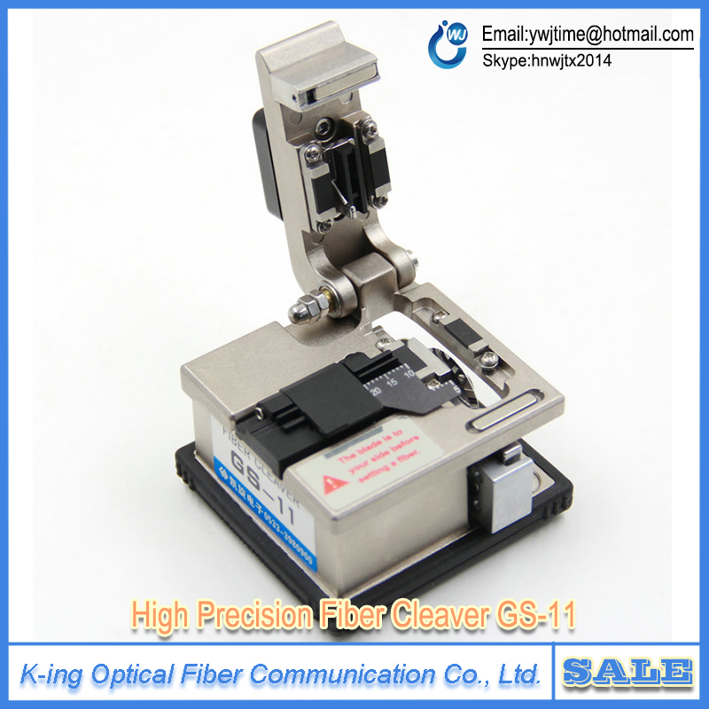 GS 11 High precision fiber cleaver Optical fiber cutting font b knife b font FTTH Hot