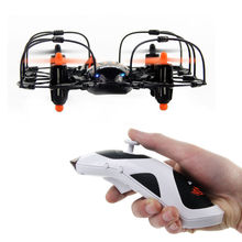 FEIXIANG Hot Sell !! Hand Sensor Drones! UDI MTU830 4-CH 2.4GHz RC Quadcopter 6-axis Gyro LED Gravity Sensor Mini UFO
