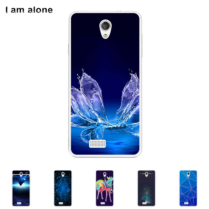Soft TPU Silicone Case For Fly IQ4416 Era Life 5 4.5 inch Cellphone Mask Color Paint DIY Cover Protective Skin Bag