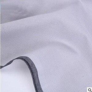 Image 5 - 12個メンズハンカチ綿100% の正方形スーパーソフト洗えるハンカチ胸タオルポケット正方形43 × 43センチメートル