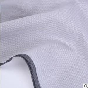 Image 5 - 12pcs Mens ממחטות 100% כותנה כיכר סופר רך רחיץ ממחטת חזה מגבת כיס כיכר 43x43cm