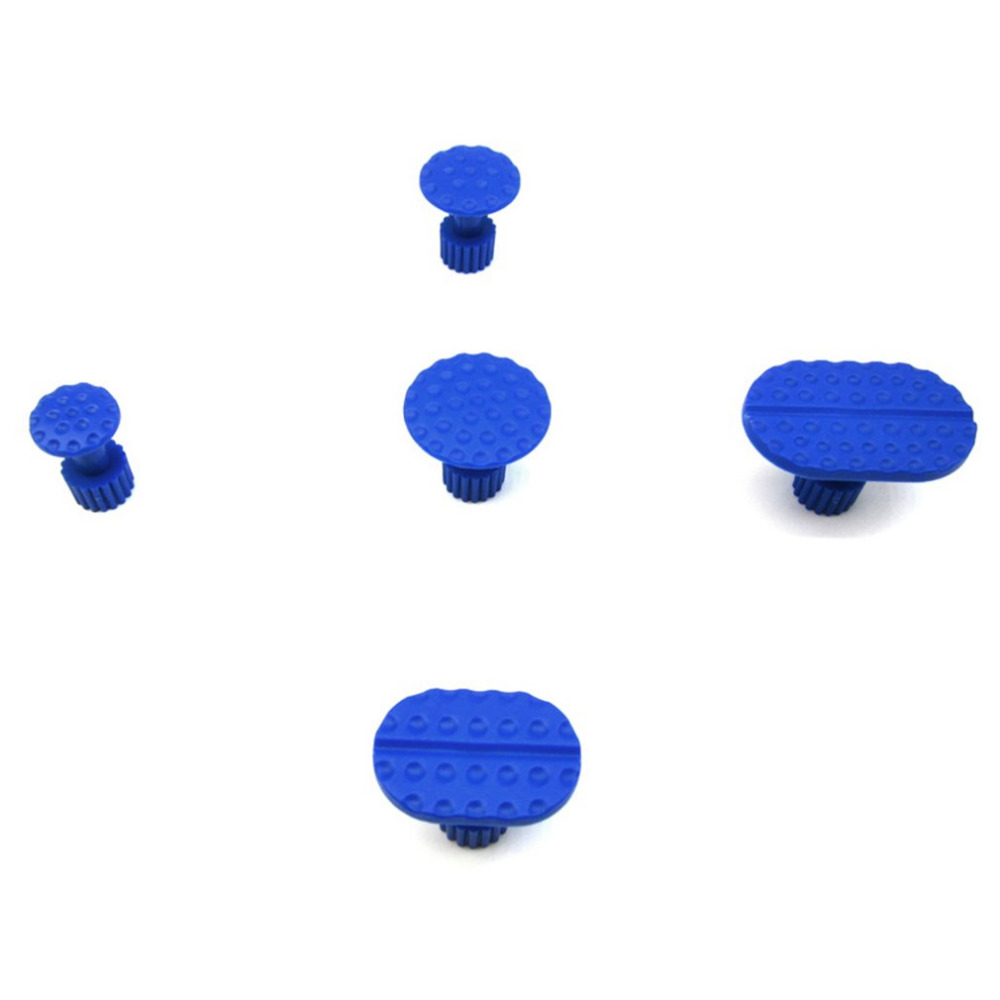 5pcs Plastic Paintless Dent Diy Repair Tools Puller Glue For