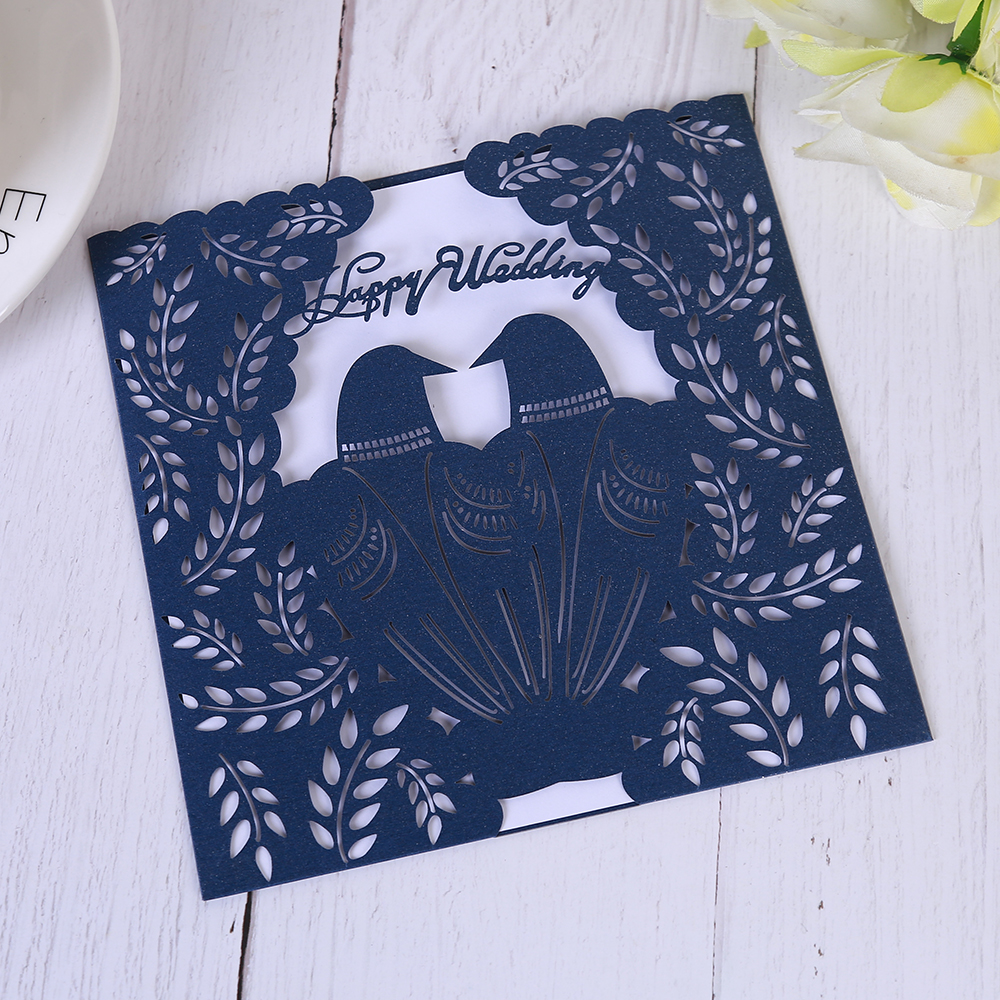 Wedding invitations 100pcs happy wedding engagement mr mrs wedding wedding invitations 100pcs happy wedding engagement mr mrs wedding etiquette vintage greeting card with printable paper in cards invitations from home m4hsunfo