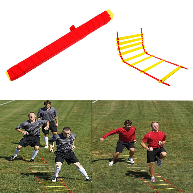 Durable 6 Rung 3M Agility Ladder For Soccer Football Fitness Feet Speed Training W15