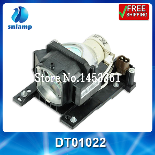 Compatible projector lamp bulb DT01022 for CP-RX78 CP-RX80W CP-RX80 ED-X24 CP-RX78W dt01022 dt 01022 for hitachi cp rx78 cp rx78w ed x24z x24z ed x24 cp rx80w cp rx80 projector lamp bulb with housing