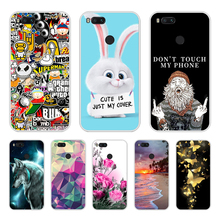 Phone Cases For Xiaomi Mi 5X Silicone Coque for A1 Cover fundas A1/for Mi5X 5.5 bags