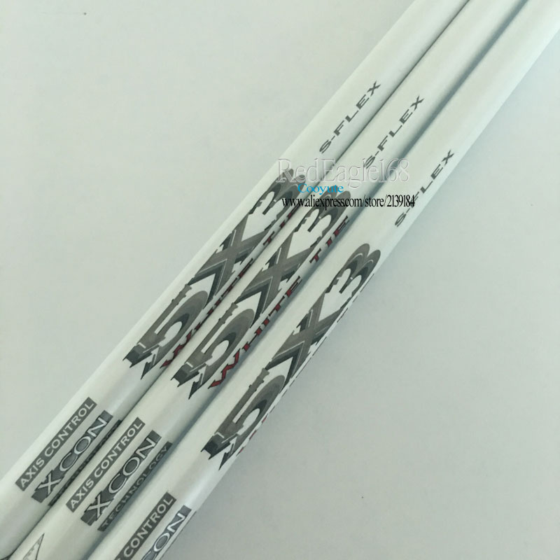 Cooyute 3pcs/lot New Golf Driver Shaft Matrix X Con 5X3 Graphite Golf Shaft R Or S Flex Golf Wood  Shaft Free Shipping