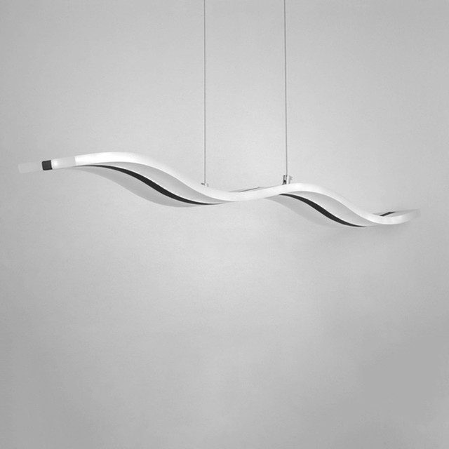 38 Watt LED pendelleuchten Moderne Küche Acryl Suspension Hängen ...
