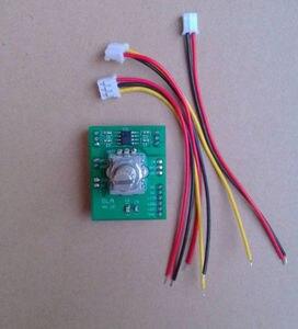 Image 3 - مزدوج لوحة قياس جهد رقمي عن بعد الصوت حجم كونترو مع led 20Hz 20KHz لمكبر للصوت تيار مستمر 5v 12v