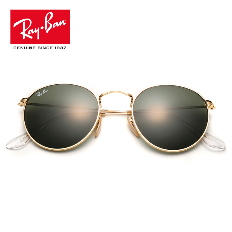 Rayban 2018 Retro Round Mirror UV Protection Lens Eyewear Accessories Sun Glasses lassic prescription RB3447 cool round lens butterfly mirror sunglasses